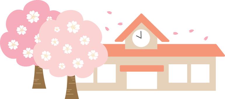 【Building】 Nursery School · Kindergarten Spring