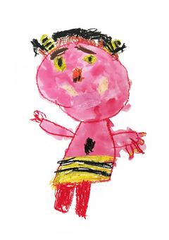 Demon child picture