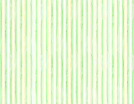 수채화 풍의 스트라이프 배경 _ 녹색 - 노란색
