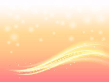 Pink Wave Frame 01