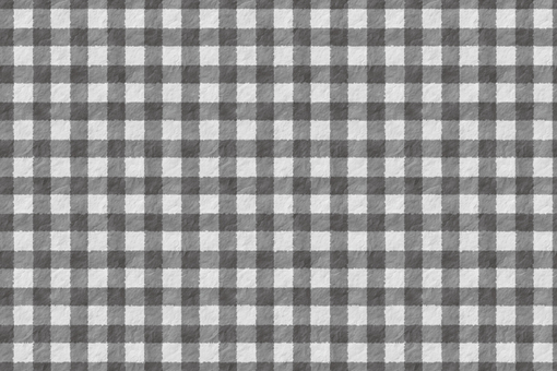 Rough gingham check
