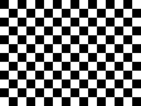 Pattern checkered black