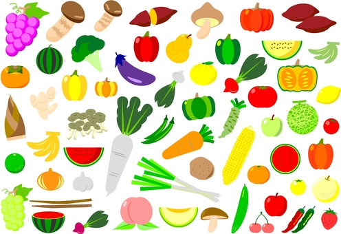 Vegetable and Fruit Set