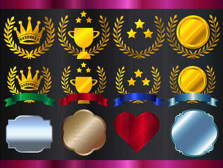 Medal crown set