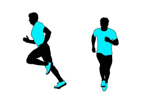 Runner silhouette 5
