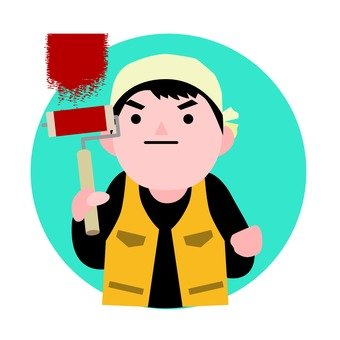 Painting worker 2