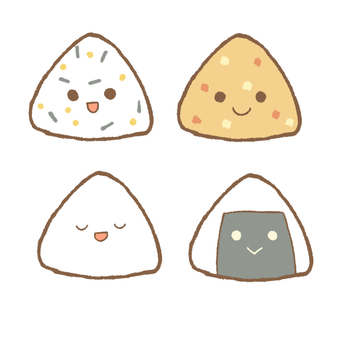 Rice ball 4 brothers