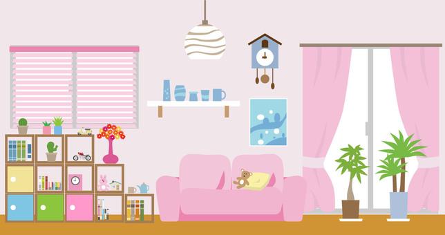 My Room 1 Pink