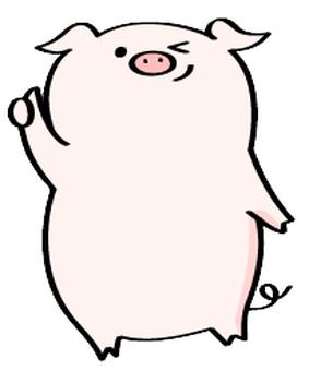 祝你好運豬
