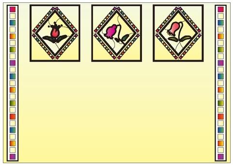 框架彩色玻璃1