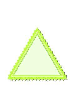 테두리 삼각형