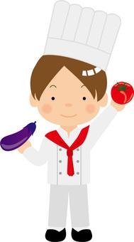 Italian chef / type i / uta