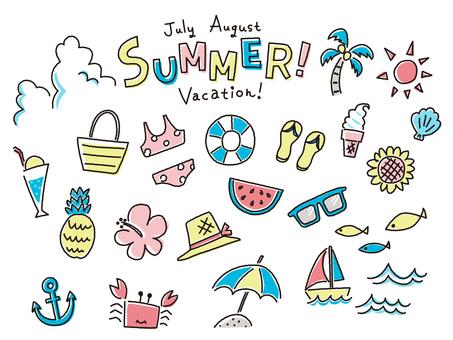 Summer Icon Rakugaki Touch