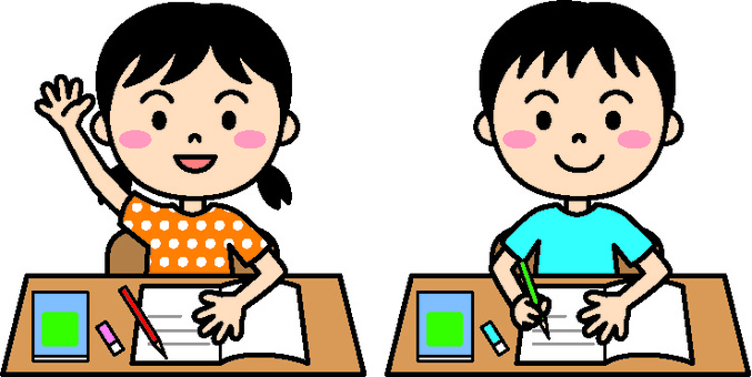 Child lesson color
