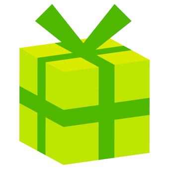 Present box (solid) green
