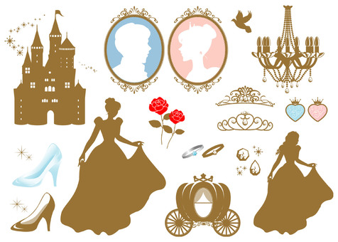 Silhouette princess set