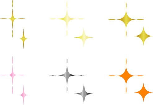 Various glitter