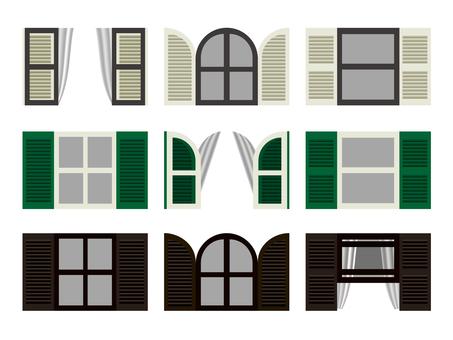 Western-style window
