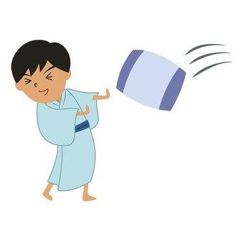 Pillow throw 1
