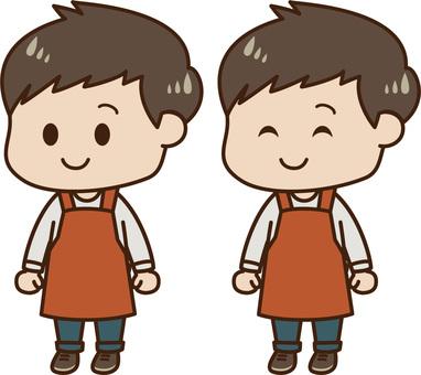 Male apron 01