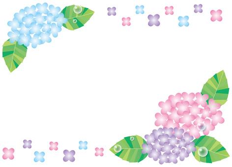 绣球花框架