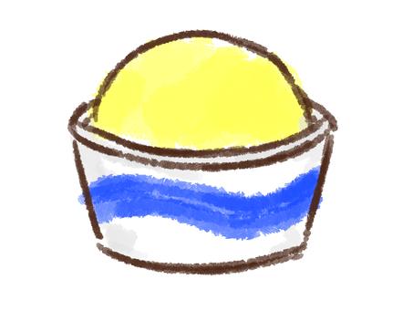 Crayon series [cup / lemon]