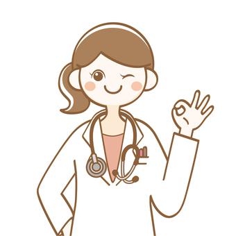 Female doctor OK