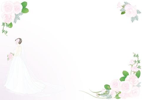Wedding dress _ Roses