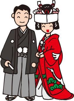 신부와 신랑 (일본식)