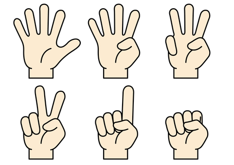 Hand finger icon 17