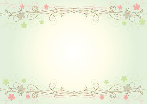 Fine line frame