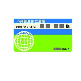 Foreign goods ordinary debit account