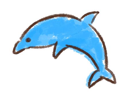 Crayon series [dolphin]