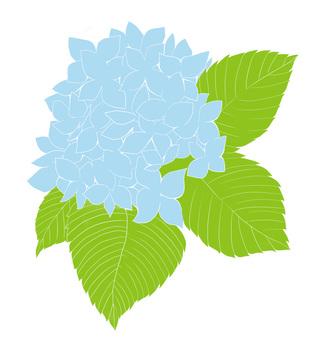 free cliparts flower hydrangea hydrangea 150587 illustac rh en ac illust com blue hydrangea clipart blue hydrangea clipart free