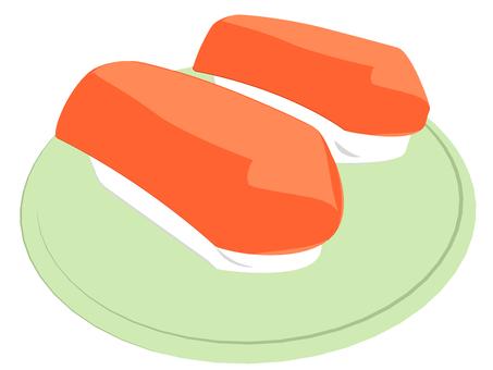 Sushi (salmon)