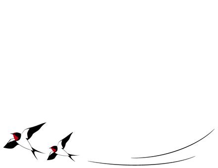 Swallow _ frame _ black