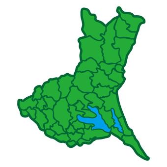 Japan Map Ibaraki 02