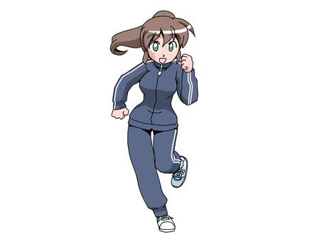 여자 (달리기)