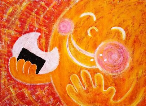 Omusubi and sun
