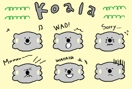 Koala's everyday color