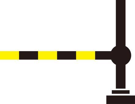 Tracks, crossings, silhouettes