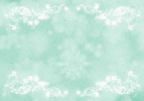 水晶圖案聖誕賀卡