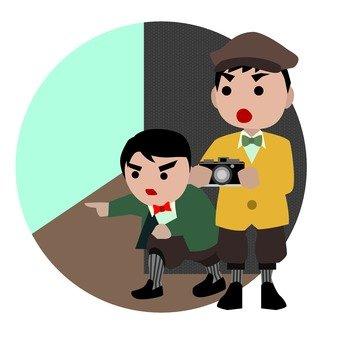 Juvenile detective group