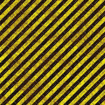 Rusted yellowish black pattern (iron plate)