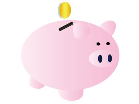 Pig's piggy bank