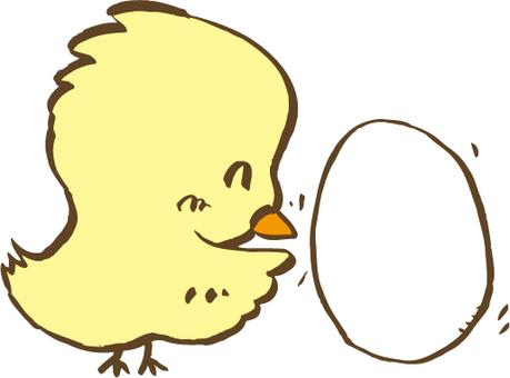 Chick egg roll