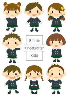 幼兒園的孩子們