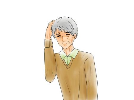 My head hurts, male 2