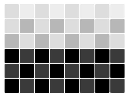 Monotone tile