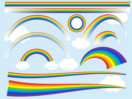 虹のセット